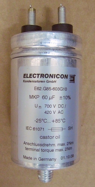 Конденсатор  E62.G85-603G10