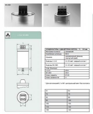 Конденсатор  E62.M16-662L30