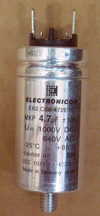 Конденсатор  E62.C58-472E10